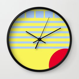 Let's live bright! Wall Clock