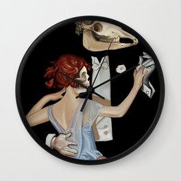 La Danse Macabre Wall Clock
