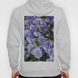 Pansy flower Hoody