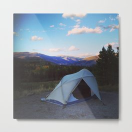 Camping is for lovers Metal Print