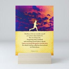 Press On! Mini Art Print