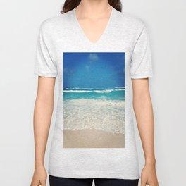 Waves in Paradise Unisex V-Neck