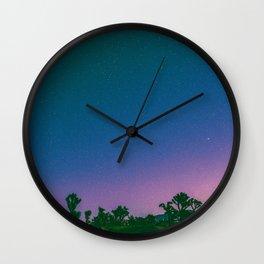 SKYFALL - Joshua Tree Wall Clock