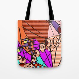 Colorful Shapes 2 Tote Bag