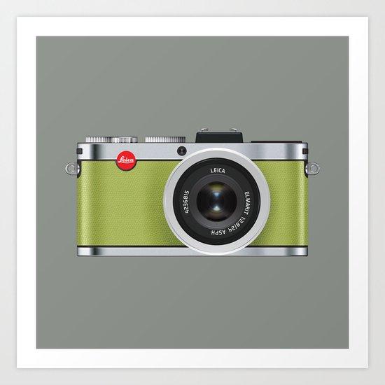 Leica X1 Camera Art Print