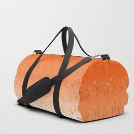 """""""Cactus flowers in soft orange"""" Duffle Bag"""