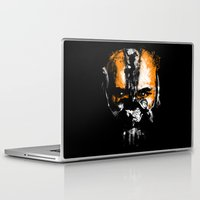 bane Laptop & iPad Skins featuring Bane Rhymes with Pain by zerobriant