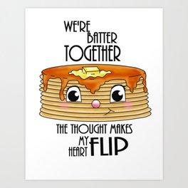 Maple Hotcakes Art Print