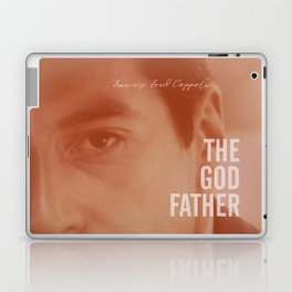 The Godfather, Alternative Movie Poster, Al Pacino, Marlon Brando, classic film Laptop & iPad Skin