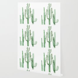 Three Amigos White + Green by Nature Magick Wallpaper