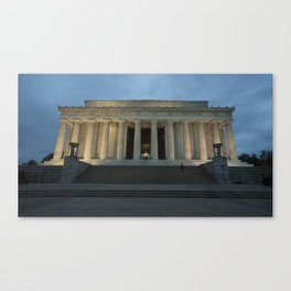 Lincoln Memorial Twylight  Canvas Print