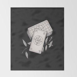 Wheel of Fortune Tarot Throw Blanket