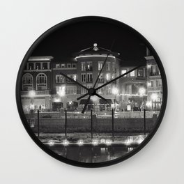 Riverfront Lights Wall Clock