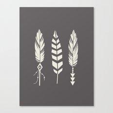 Gypsy Feathers Canvas Print
