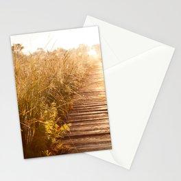 boardwalk and morass grass Stationery Cards