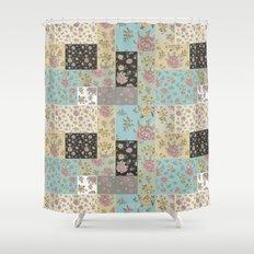 Mantón de Colores Shower Curtain