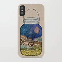 collage iPhone & iPod Cases featuring Star Jar by Jenndalyn