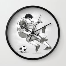 This is Football! Wall Clock