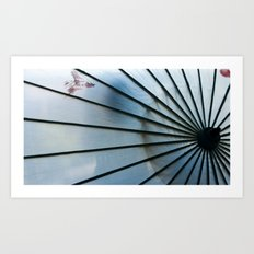 BLUE CHINA Art Print