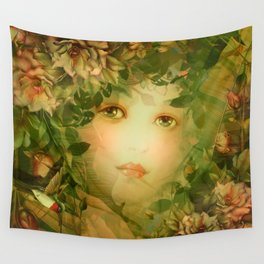 """""""The memory of an imagined childhood"""" Wall Tapestry"""