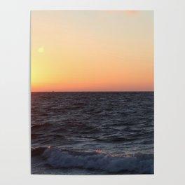 Sonnenaufgang am Meer Poster