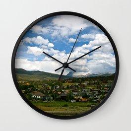 Dillon Valley Wall Clock