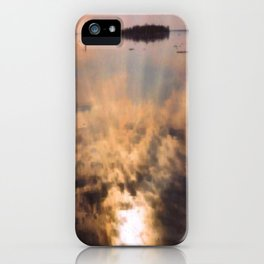spring reflection iPhone Case