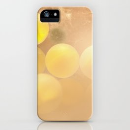 Glass-yellow iPhone Case