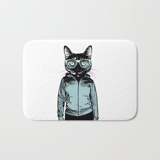 Cool Cat Bath Mat