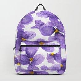 Violets are blue Backpack
