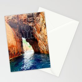 The lost valley Stationery Cards