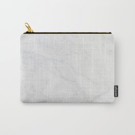 White Marble Carry-All Pouch