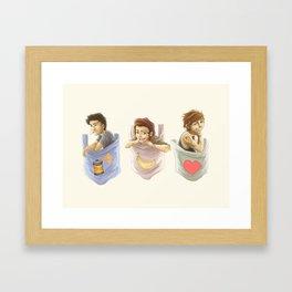 Pocket Zourry Framed Art Print