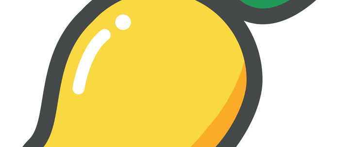 Mango Emoji Coffee Mug
