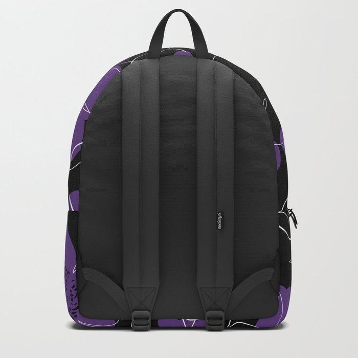 Purple Blooms Backpack