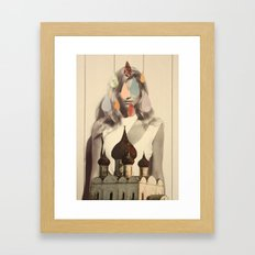 quatre Framed Art Print