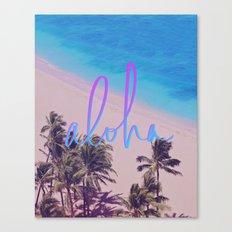 Aloha Hawaii Canvas Print