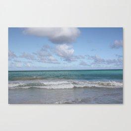 Beach in Hawaii 2 Canvas Print