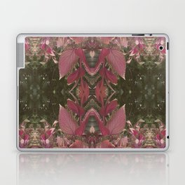 Red Shiso Warm Tones Pattern Laptop & iPad Skin