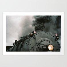 Engine 734 Art Print