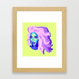 QUEEN ALYSSA EDWARDS Framed Art Print