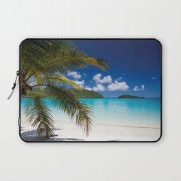 Tropical Shore Laptop Sleeve