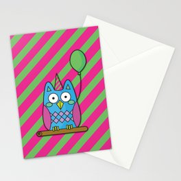 Nutty the Owl - Party Animal Stationery Cards