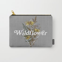 Wildflower Sprigs Carry-All Pouch