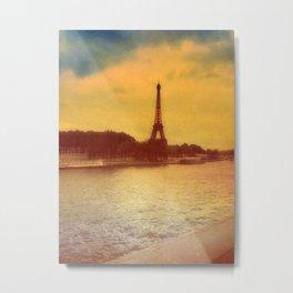 Paris from a Distance  Metal Print
