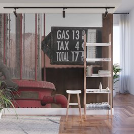 Fill 'er Up Wall Mural
