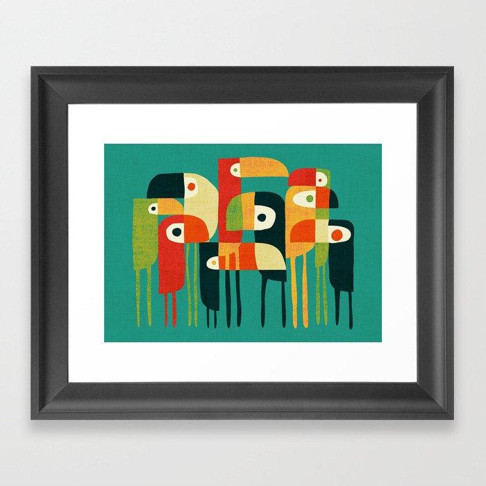 Toucan Gerahmter Kunstdruck
