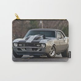 Silver Muscle car  Carry-All Pouch