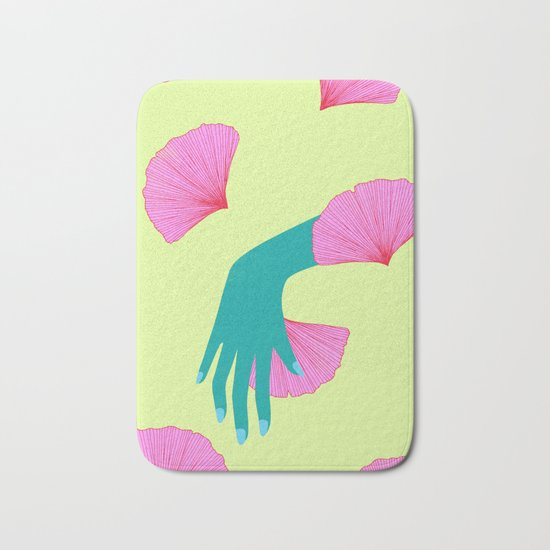 tired of indecision Bath Mat