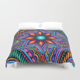 QUYLUUR INDIAN PAINTING Duvet Cover